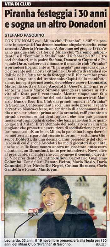 Stampa TuttoSport 7-11-02