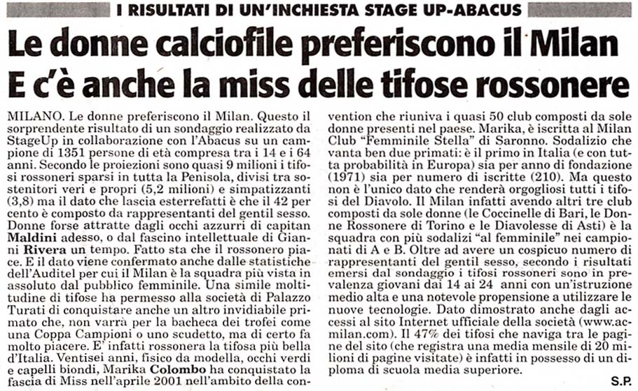 Stampa TuttoSport 8-2-03
